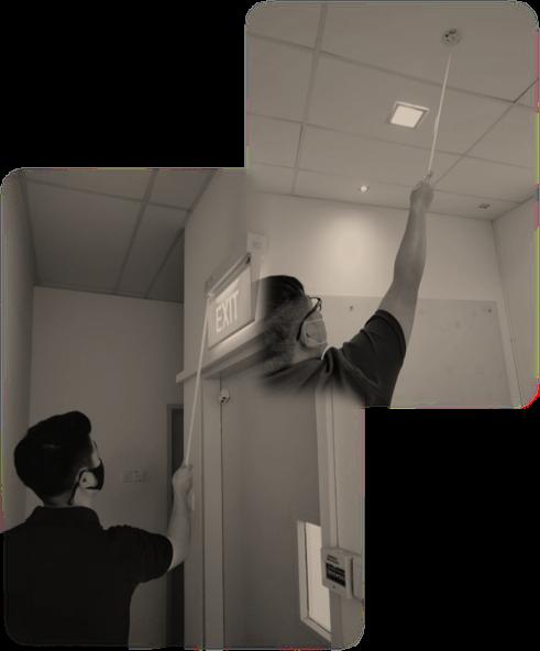Exit Emergency Light Manual Testings
